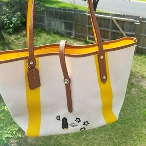 8d9d9672fe469 Coach Bags - New COACH Market Tote with Souvenir Embroidery
